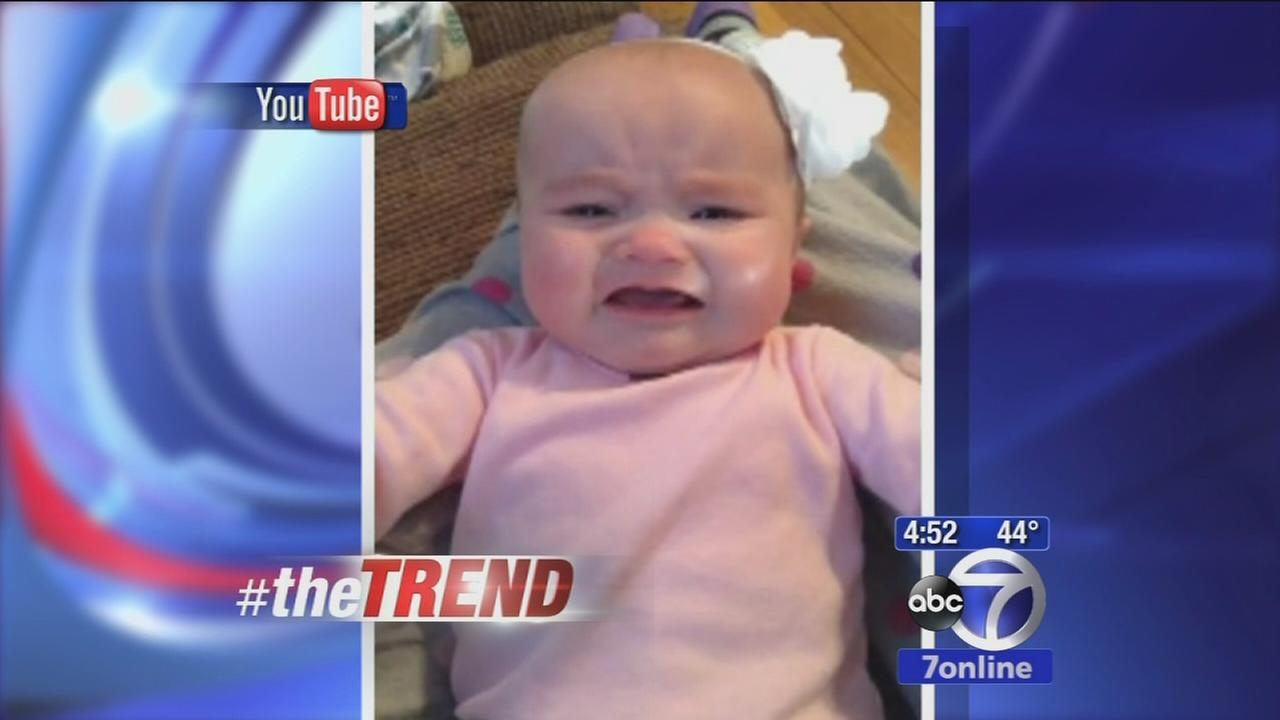 The Trend: Baby stops crying when Taylor Swift song is played