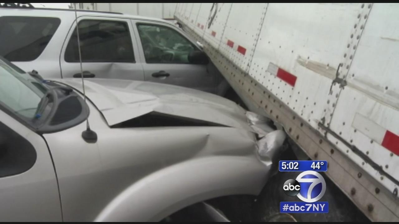23 vehicles involved in massive chain-reaction pileup in Orange County