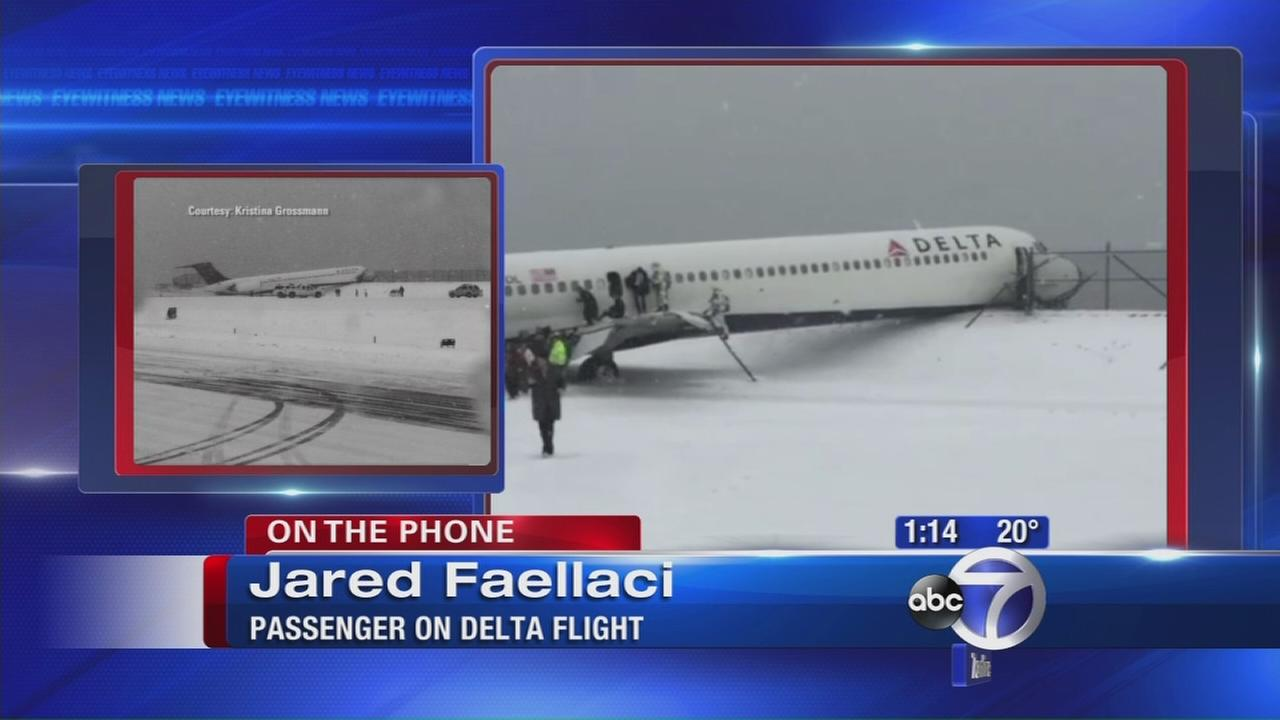 Passenger Jared Faellaci talks about plane accident