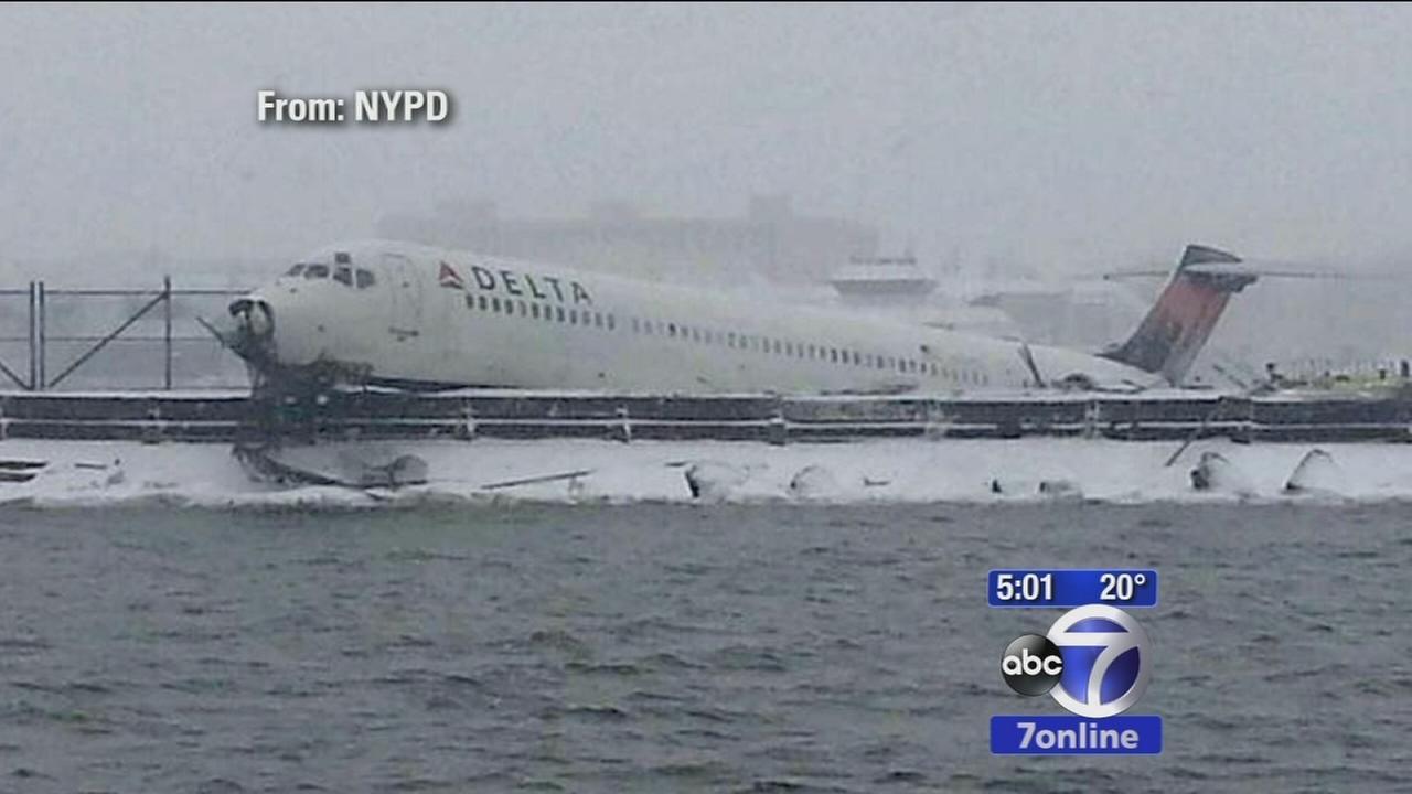 Delta passengers describe frightening ordeal
