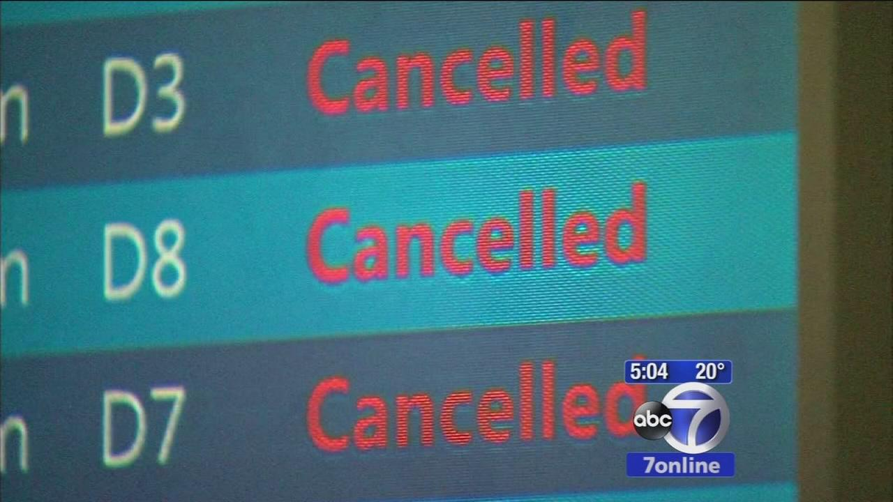 Many flights cancelled after Delta mishap