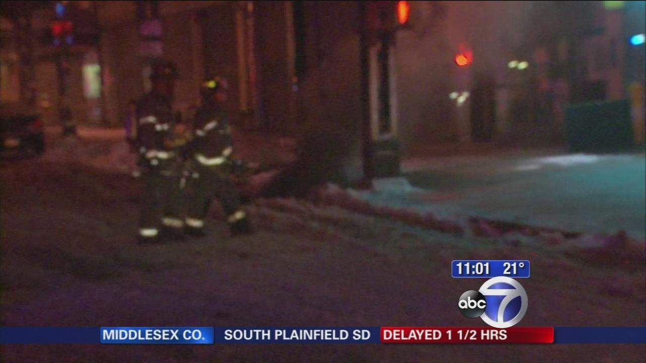 Firefighter injured in manhole explosion in Bushwick, Brooklyn