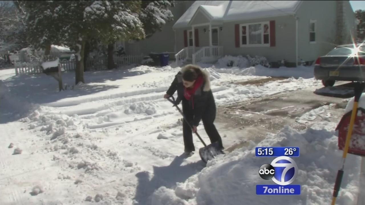 New Jersey residents hopeful this is the last of snow