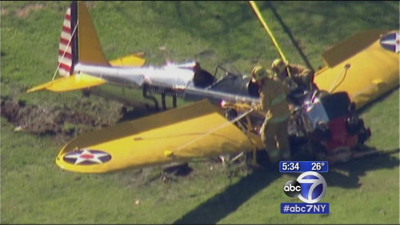 Harrison Ford expected to live after crash landing plane