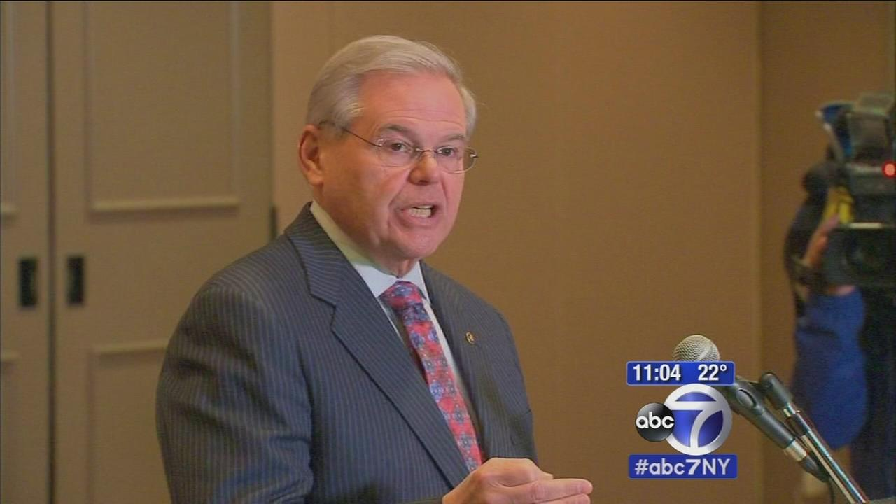 Sen. Menendez speaks out about possible federal charges