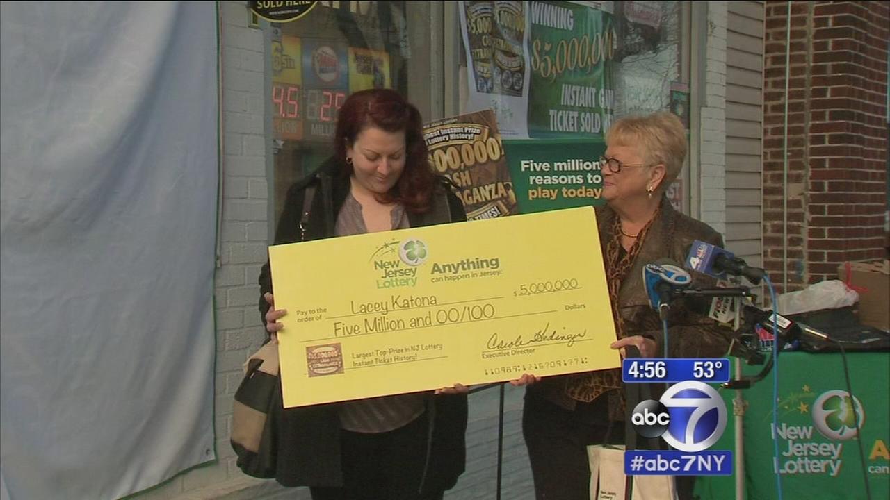 Scratch-off lottery ticket leaves NJ woman $5 million richer