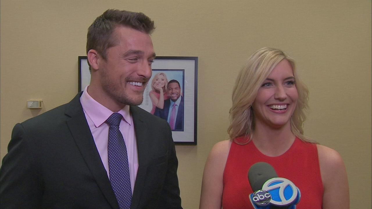 Chris and Whitney talk about their Bachelor engagement