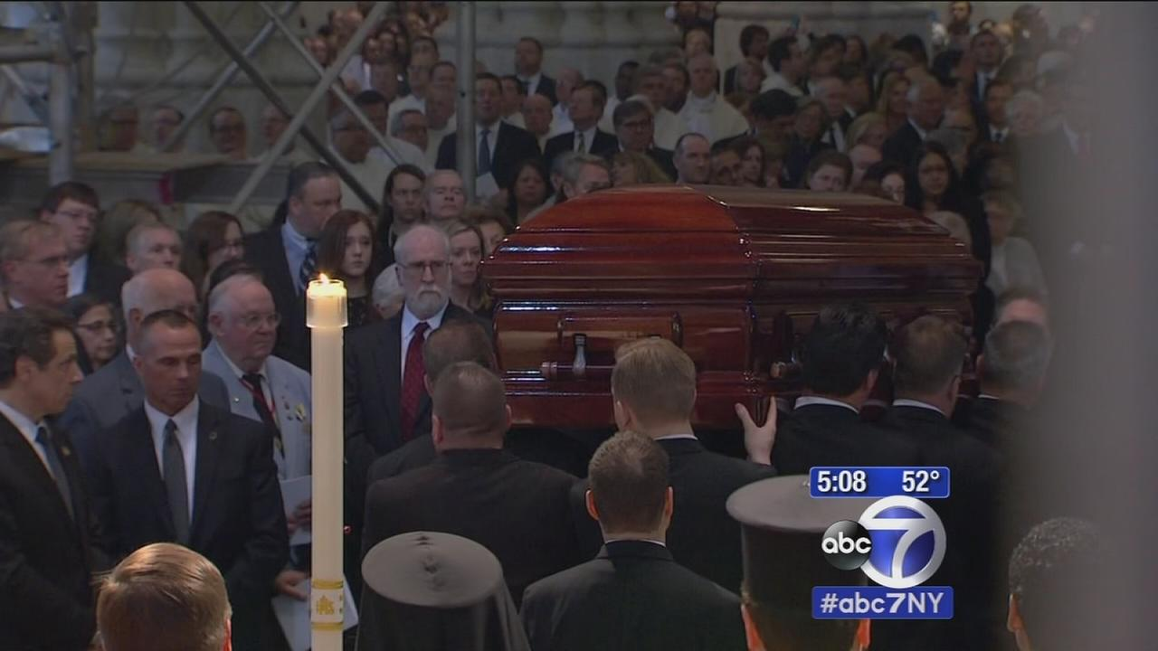 Funeral held for Cardinal Edward Egan
