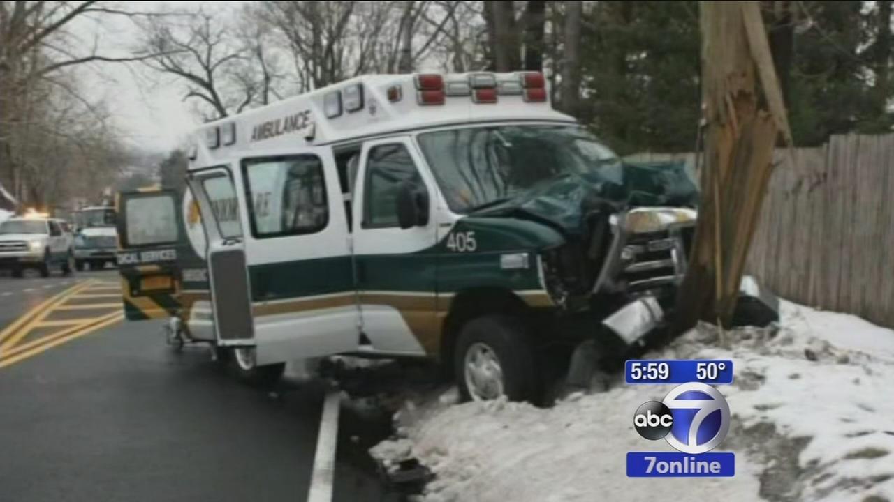 Woman killed in Bronx ambulance crash
