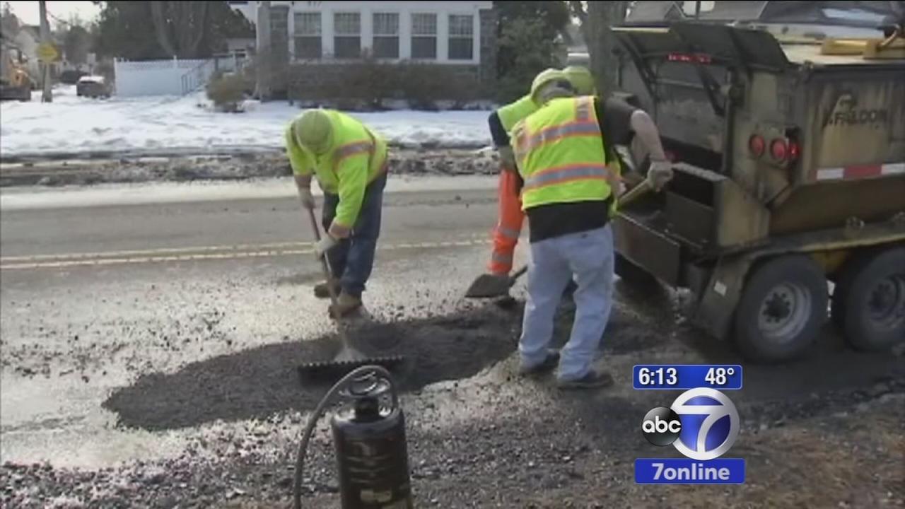 NJ towns mount new pothole repair efforts