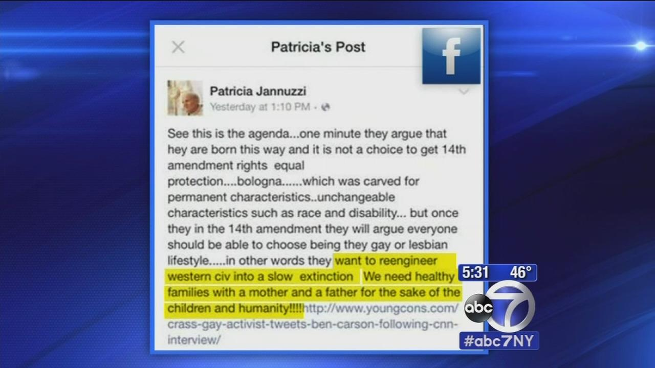 NJ teacher prompts outrage with anti-gay Facebook post