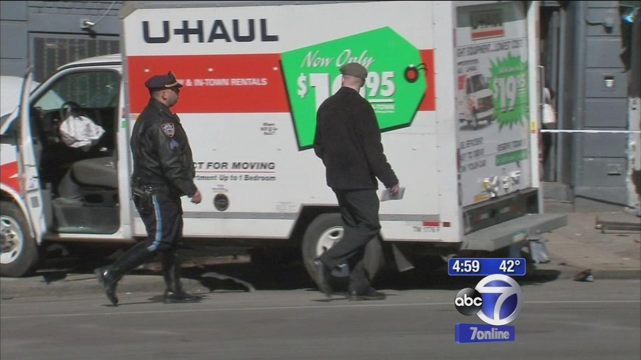 17-year-old in critical condtion after being hit by U-Haul