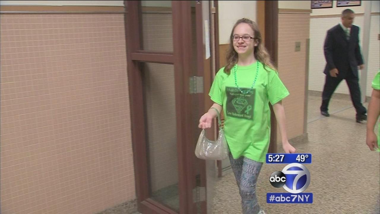 LI student raising awareness of cerebral palsy