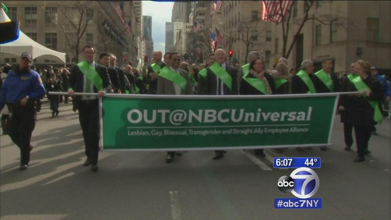 First gay group marches in St. Patricks Day parade