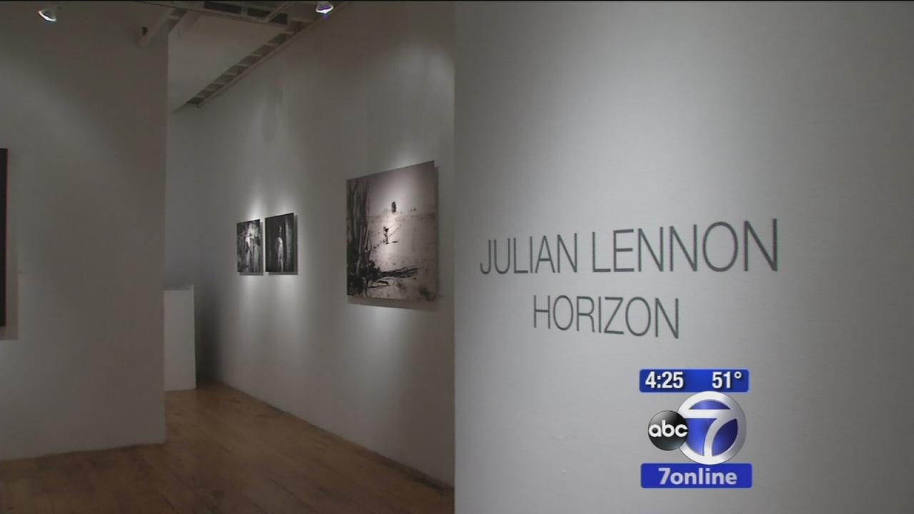 Julian Lennon making a name for himself in photography