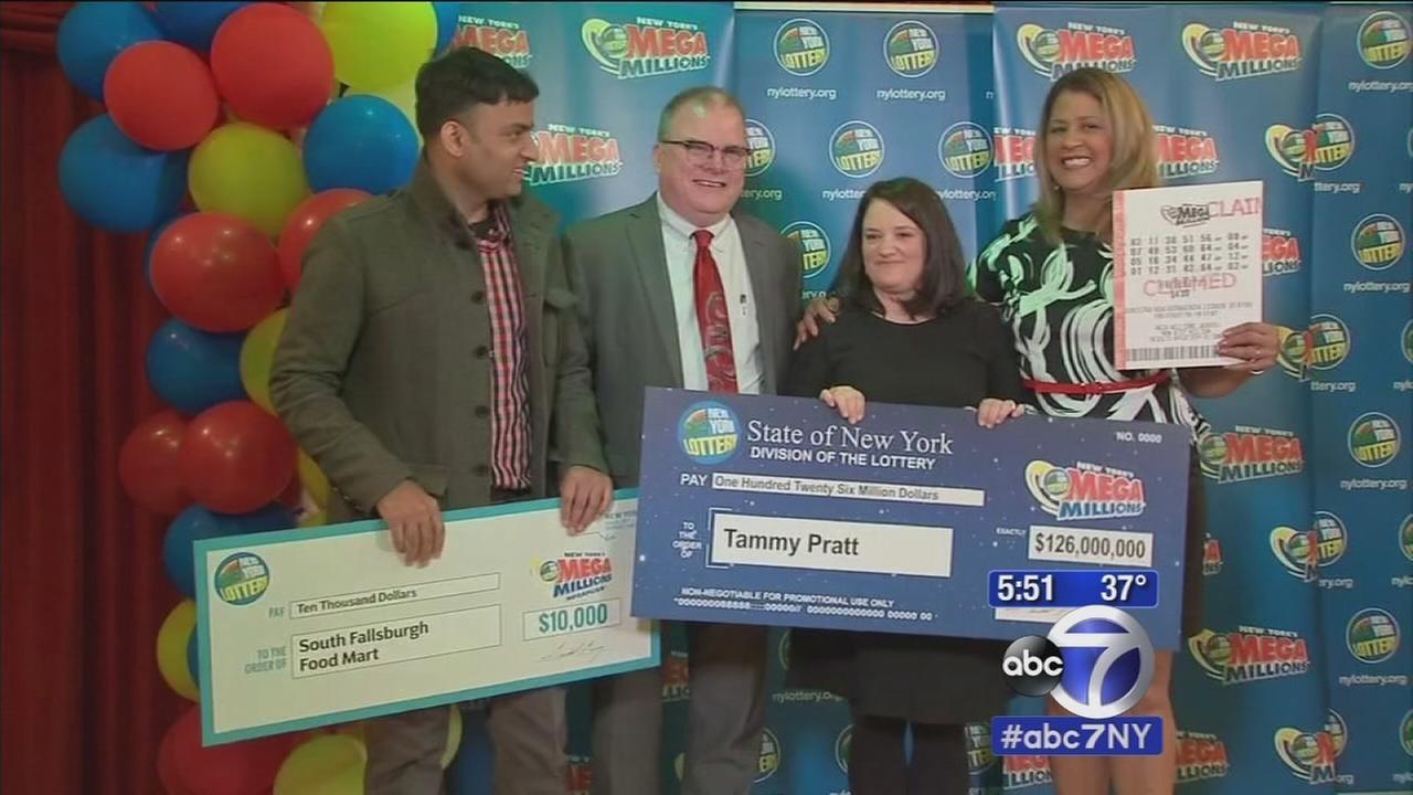 Sullivan County woman hit Mega Millions jackpot