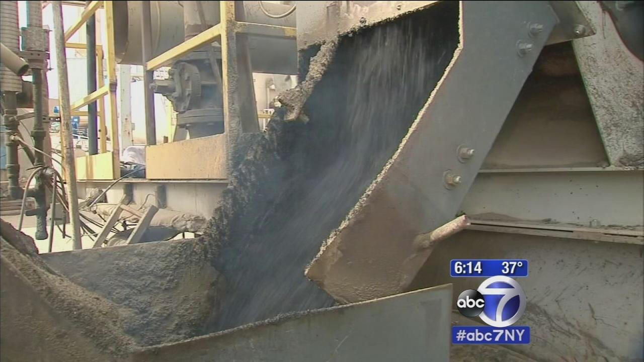 Behind the scenes look at making asphalt to fill potholes on Long Island