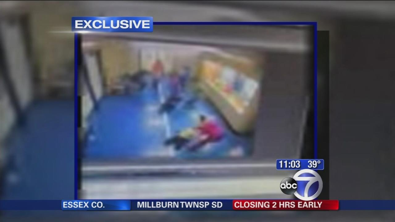 Video shows older students dragging and slamming 6-year-olds on the floor and against the walls