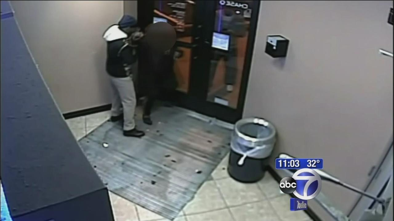 Suspect bites womans hand at ATM in Paterson