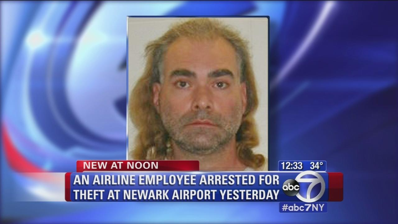 airline employee arrested