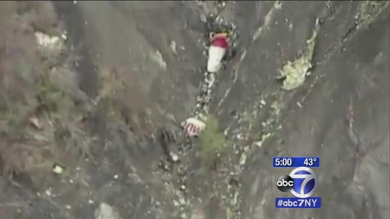 Plane crashes in the French Alps