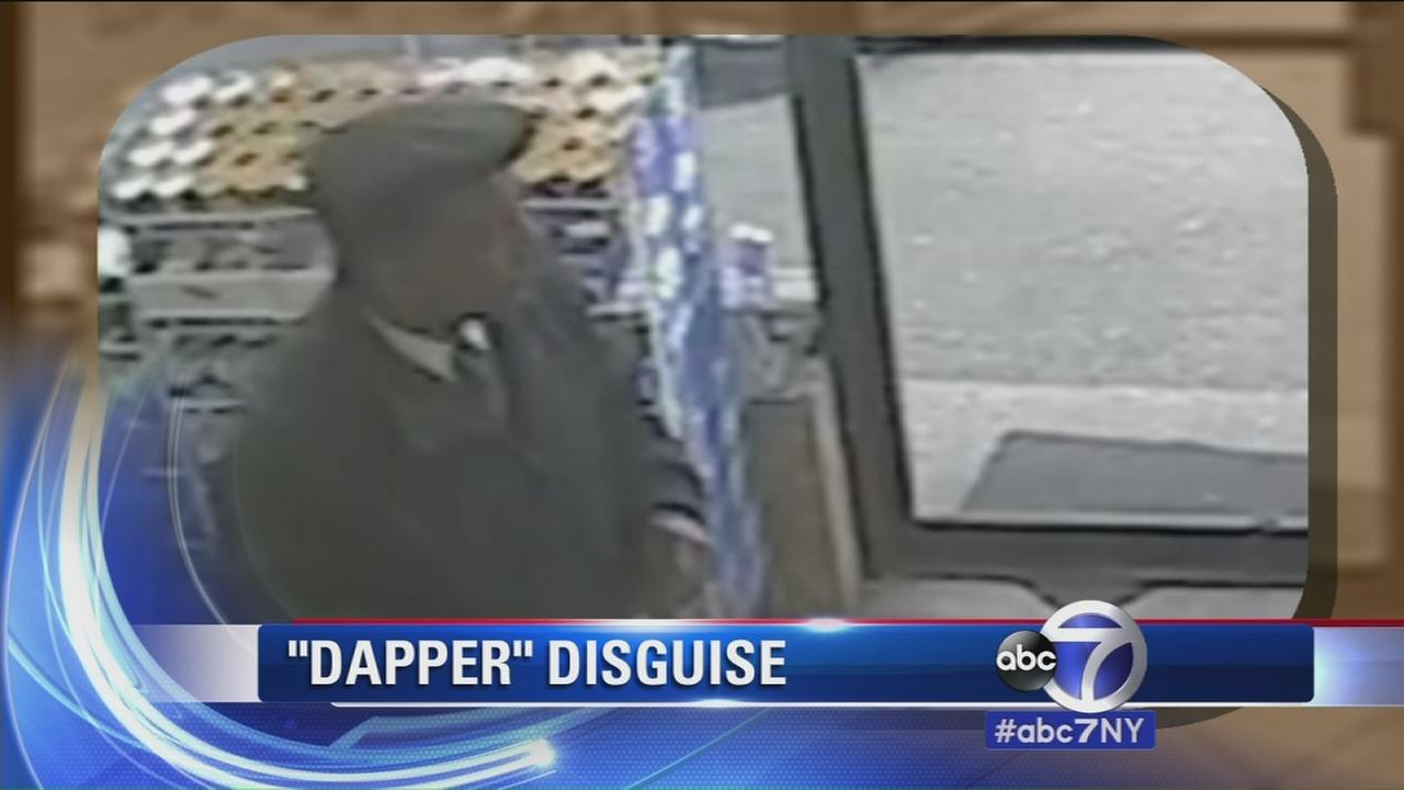 Police search for man who robbed gas station while dressed up in Westchester County