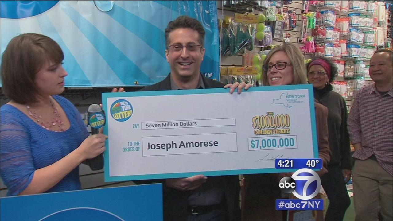 Son wins 7 million dollars on get well scratch off from father