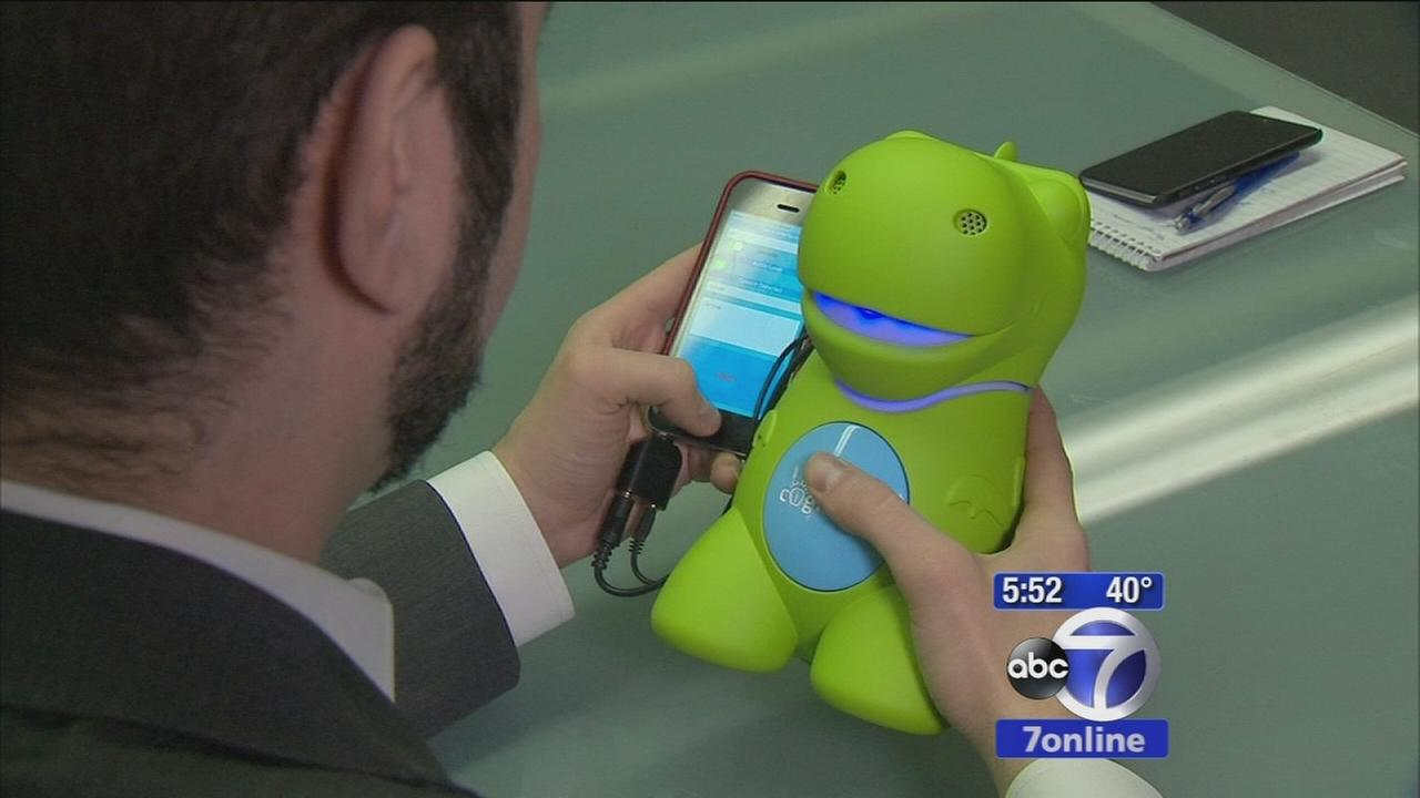 Computerized CogniToy dinosaur is the latest smart toy for kids