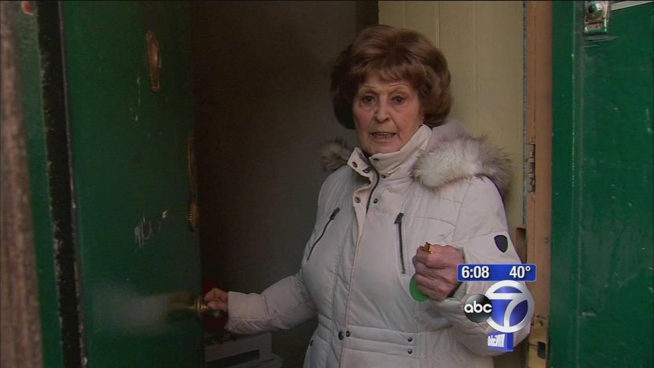 Elderly woman fights eviction in Little Italy