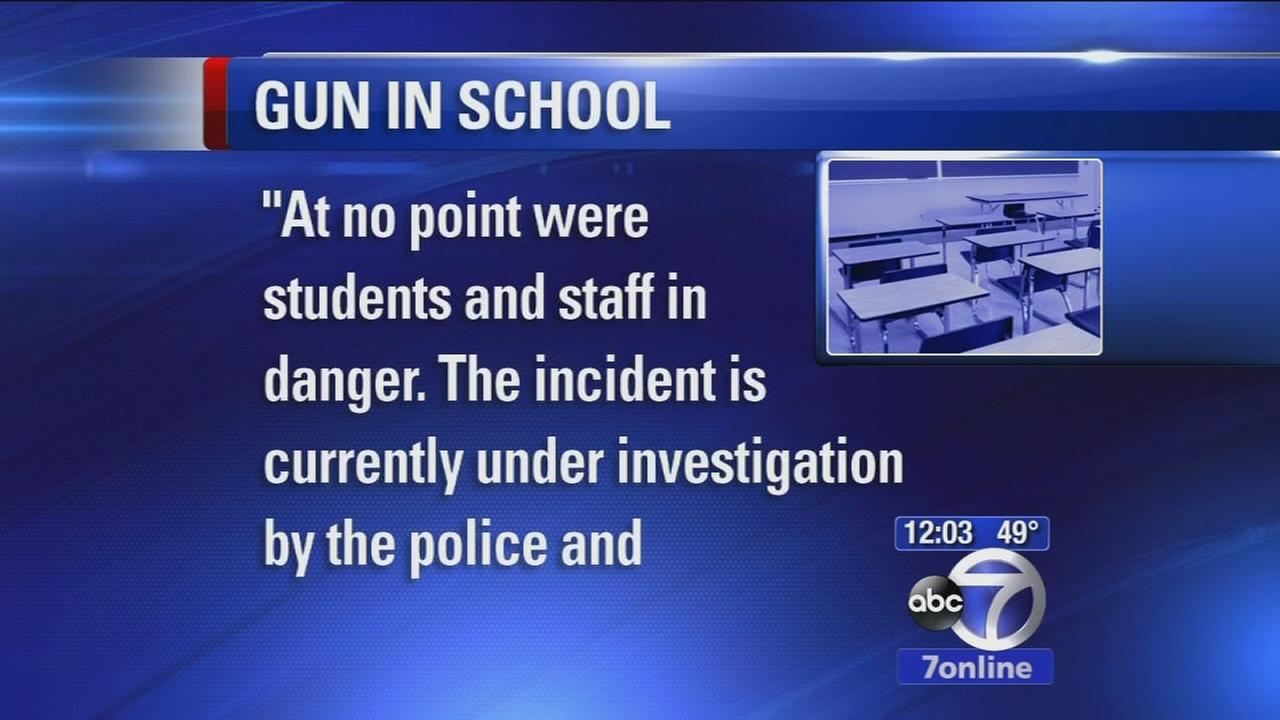 11-year-old caught with gun in school