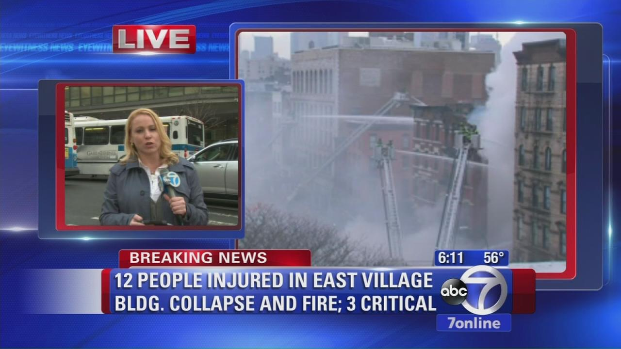 Injured rushed to hospitals after collapse
