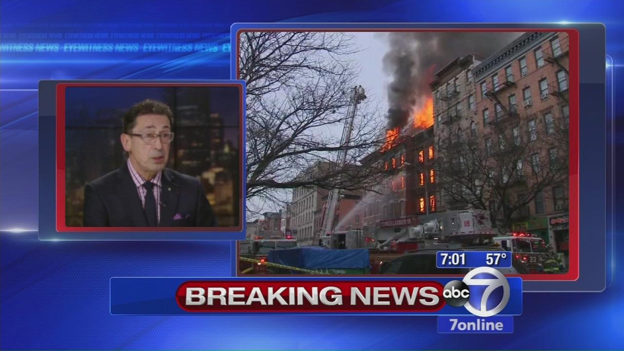 FDNY Commissioner discusses East Village explosion