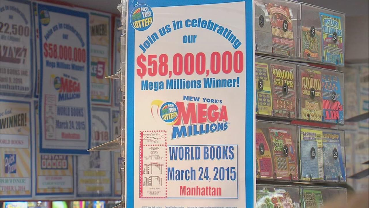 MegaMillions jackpot ticket sold at Penn Station