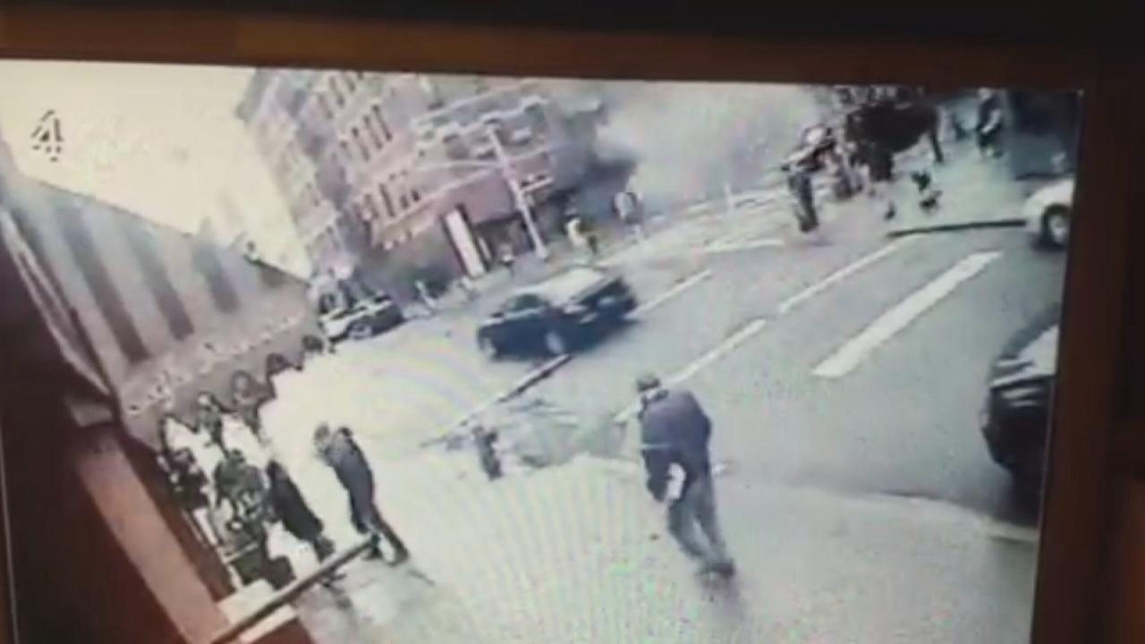 EXCLUSIVE: Video shows moment of explosion