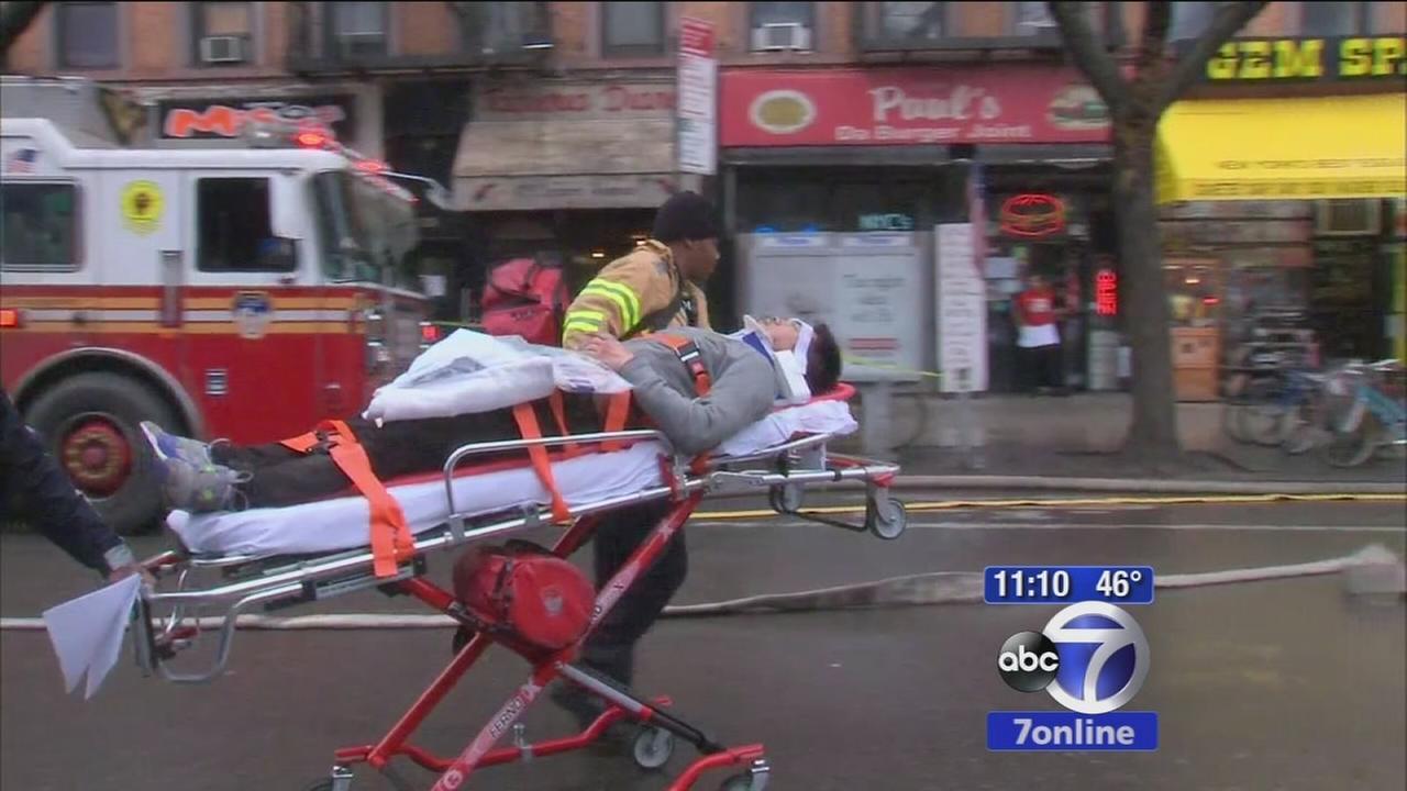 19 injured in East Village blast