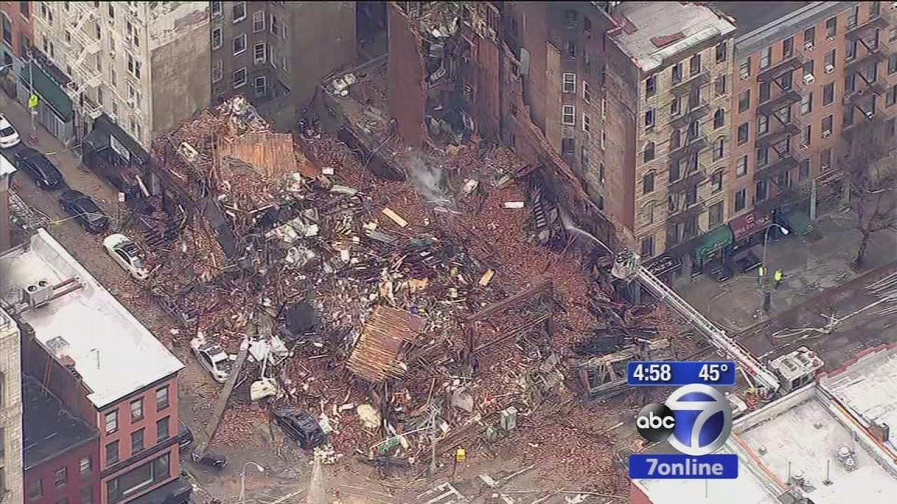 Investigation into East Village explosion