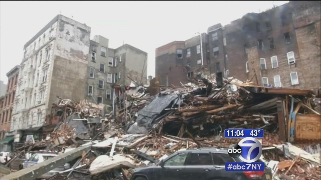 Search for victims, and cause, in East Village explosion