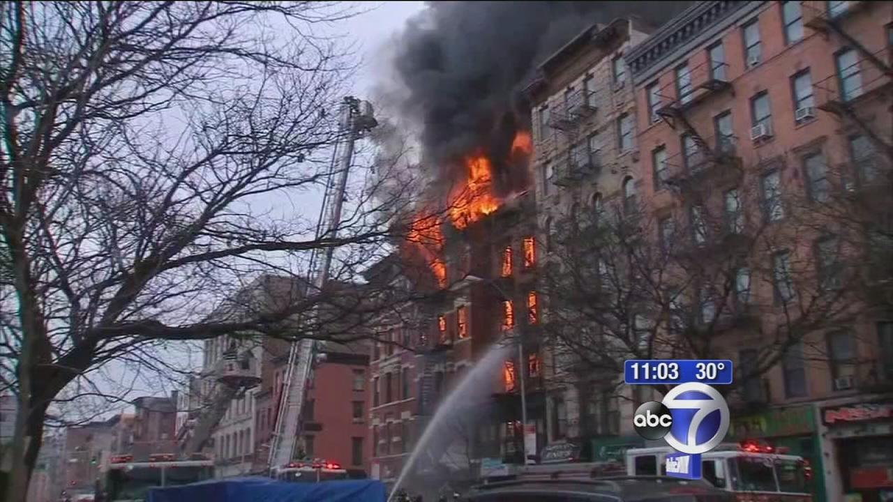 Was the cause of the East Village explosion criminal?