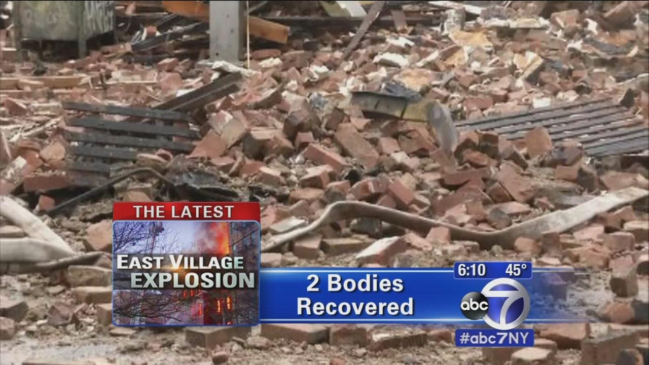 2 bodies discovered in rubble of East Village explosion