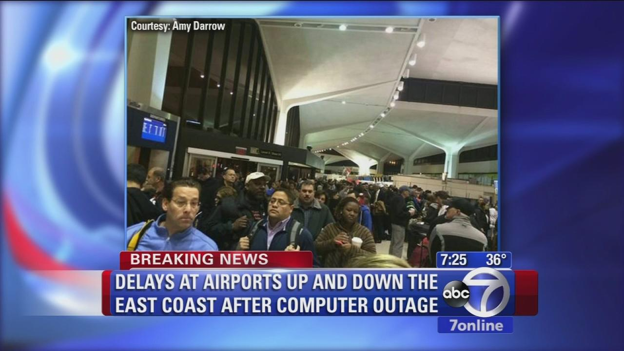 Major airport delays due to Jet Blue computer outage