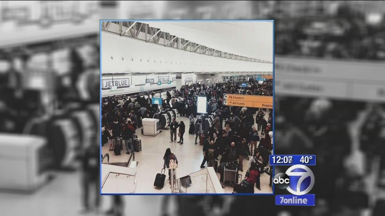 Jet Blue computer outage leads to big delays