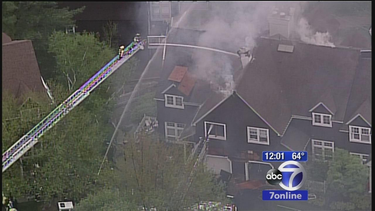 Townhome fire at golf club in Greenburgh