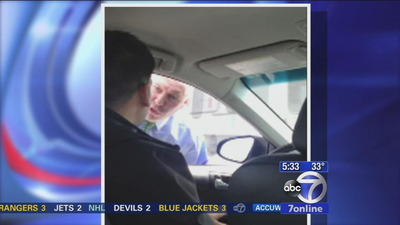 Testimony today after cop caught on camera harrassing Uber driver