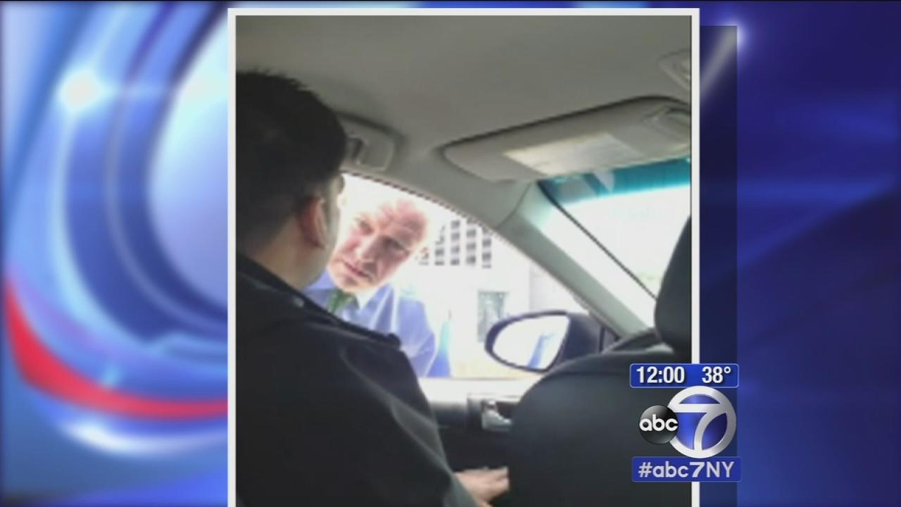 Detective lashed out on Uber driver