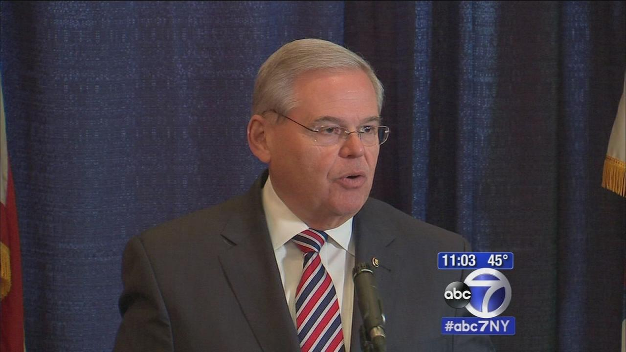 Sen. Menendez vows to fight corruption charges