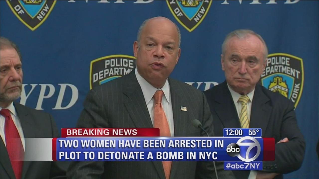 2 women arrested in NYC terrorist plot