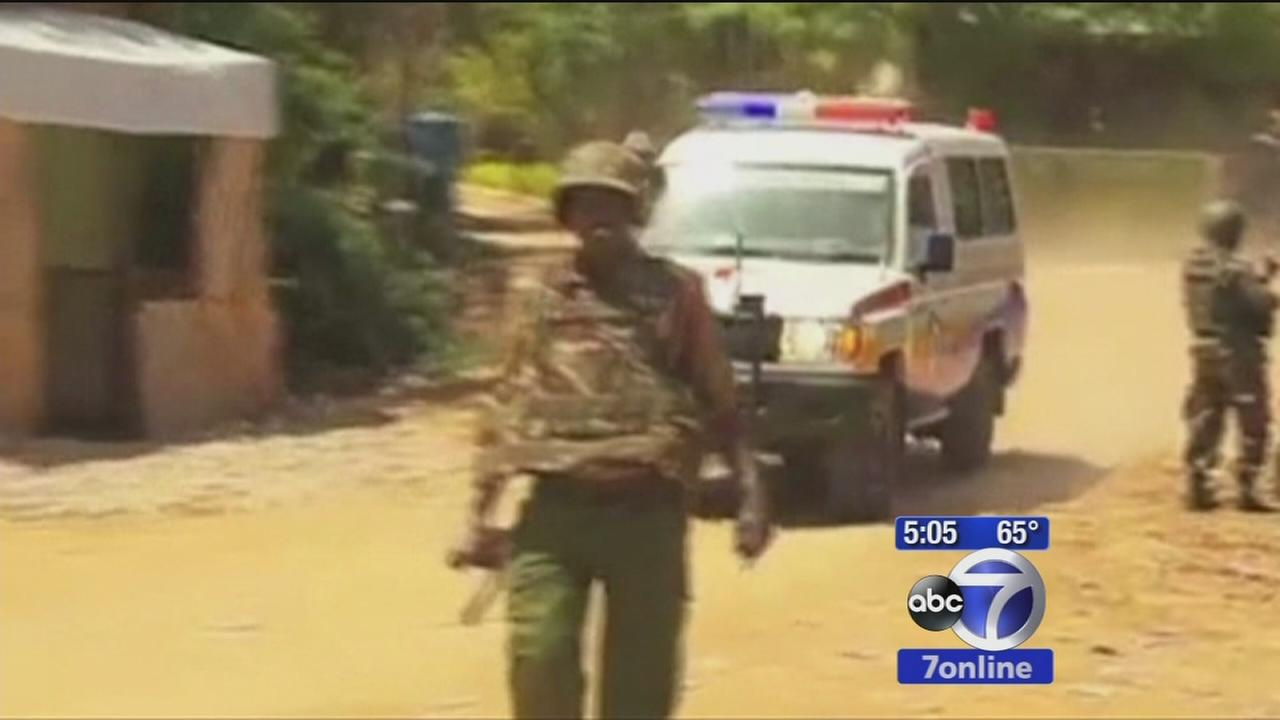 Gunmen attack university in Kenya