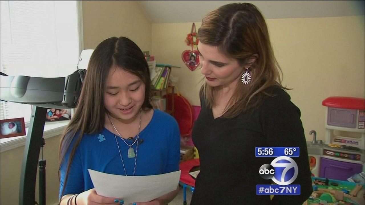 Teens letter inspires law to mark Autism Awareness Month