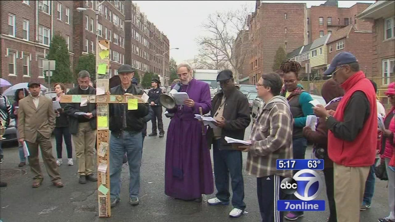 Stations of the Cross in Jersey City used to highlight neighborhood violence