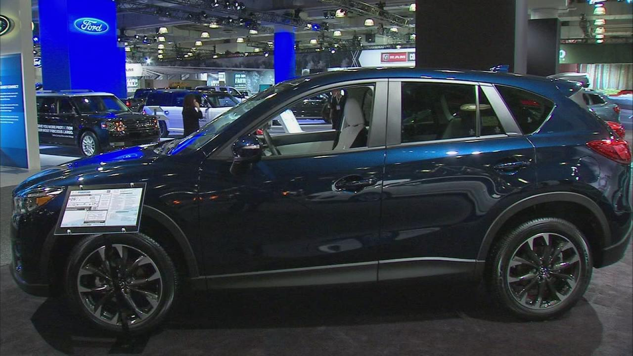 SUVs, trucks with advanced safety features on display at NY Auto Show